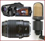ПРОДАМ. Видеокамеру, Объектив, Микрофон