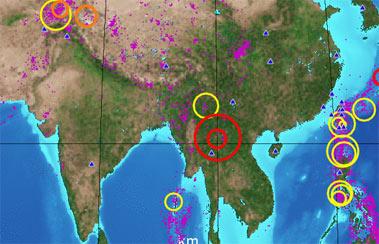 Землетрясение в Юго-Восточной Азии