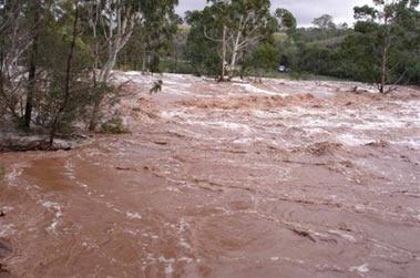 Наводнение в Намибии