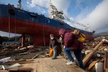 В окрестностях кораблекрушения. Япония