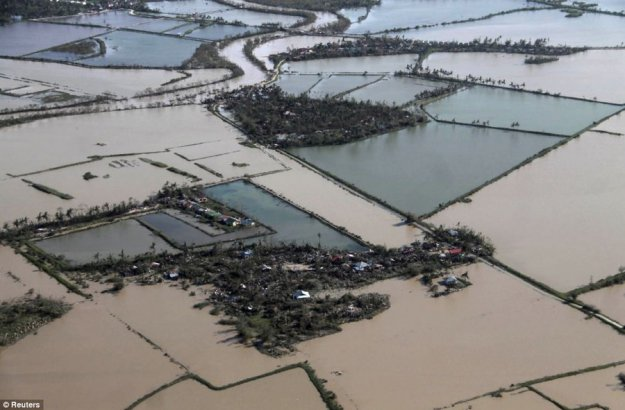 """Около 10 тысяч человек погибли в результате супертайфуна """"Хайян"""""""