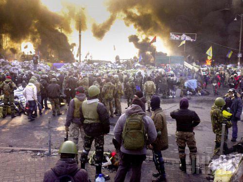 Украина. Майдан. Война. Трупы