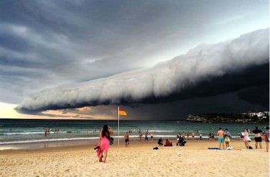 В Австралии сильный шторм