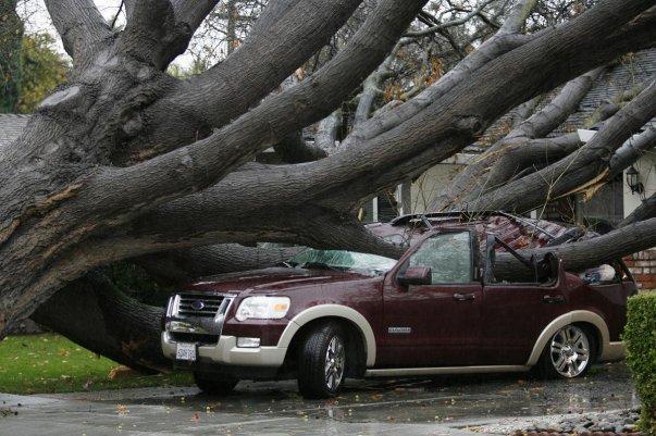 Сильный шторм в США