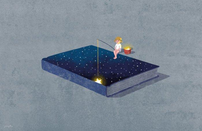 Иллюстрации для книголюбов корейского художника Юнг Хо Ли