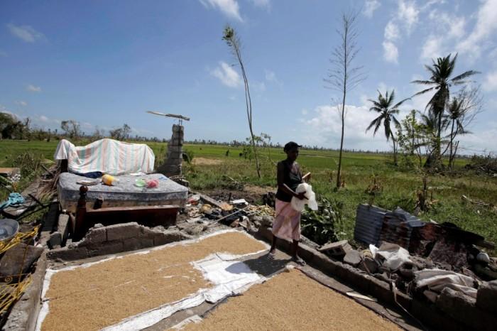 Ураган Мэтью бушует в Карибском бассейне