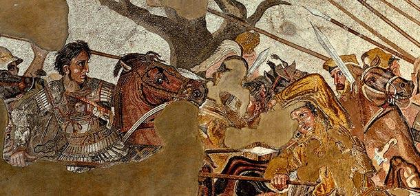 Четыре ветра 11 главы Даниила и небольшой рог 8 главы.